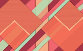 Picture line, geometry, design, color, material
