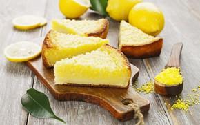 Picture pie, lemons, cakes