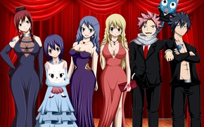 Picture nothing, anime, Grey, Lucy, tatoo, Happy, Wendy, japanese, Fairy Tail, Natsu, oppai, Erza, dragon slayer, …