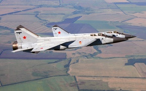 Picture Foxhound, The MiG-31, OKB MiG, double supersonic all-weather fighter