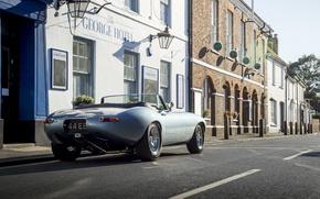Picture machine, Jaguar, City, Eagle, sportcar, Spyder, british, E-TYPE