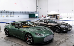 Picture Aston Martin, One-77, supercars, The V12 Zagato