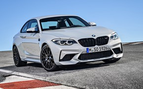 Picture white, 2018, Competition, BMW M2