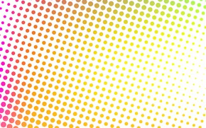 Picture abstraction, design, modern, background, multicolor, halftone
