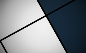 Wallpaper white, blue, black, squares, geometry, design, color, material