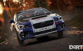 Picture car, Subaru, logo, game, Dirt, race, speed, fast, Dirt 4