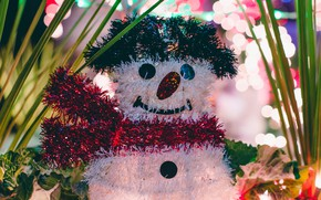 Picture holiday, toy, new year, snowman