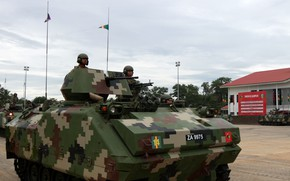 Picture weapon, armored, military vehicle, armored vehicle, armed forces, 125, military power, war materiel