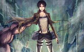 Picture anime, boy, asian, manga, japanese, asiatic, seifuku, Shingeki no Kyojin, titan, kyojin, Attack On Titan, …