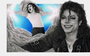 Picture figure, guy, Michael Jackson, singer