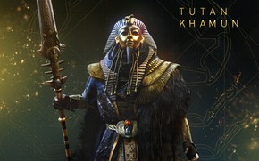 Picture Tutankhamun, The Curse Of The Pharaohs, Assassin's Creed Origins, The curse of the pharaohs