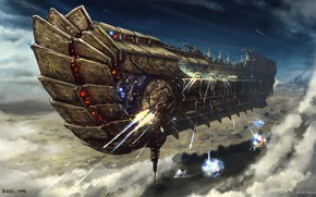 Picture transport, Bulletstorm, Ulysses Spaceship