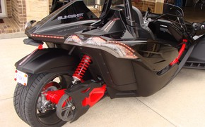 Picture beautiful, comfort, hi-tech, Polaris, Slingshot, technology, sporty, tricycle, 028