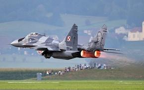 Picture MiG-29A, Fulcrum, OKB MiG, Soviet multipurpose fighter, Polish air force