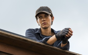 Picture The Walking Dead, Lauren Cohan, Maggie Greene, Season 7