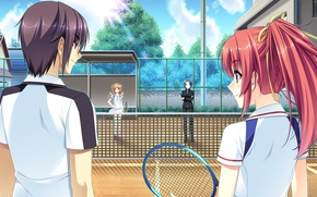 Picture girl, sport, the game, anime, art, guy, Mote Sugite Shuraba na Ore