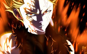 Picture look, dragon, guy, Fairy Tail, Fairy tail