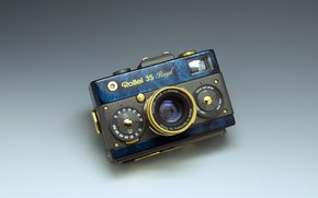 Picture style, background, the camera, Rollei 35 Royal