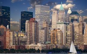 Picture city, the city, USA, USA, America, new york, America