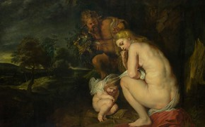 Picture erotic, picture, Peter Paul Rubens, mythology, Pieter Paul Rubens, Venus Freezes without Ceres and Bacchus