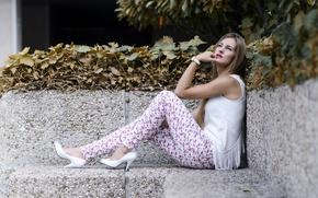 Picture girl, style, model, Veronica Padilla