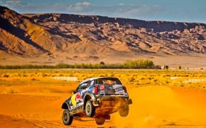 Picture Sand, Mini, Mountains, Dust, Sport, Speed, Race, Hills, Rally, Rally, Dune, Raid, MINI Cooper, X-Raid