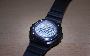 Picture light, time, watch, spotlight, Casio, Casio, Casio Illuminator
