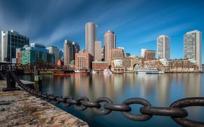 Picture USA, Boston, Boston, Fan Pier Park, Downtown Boston