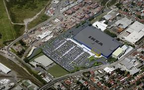 Picture building, the area, IKEA Australia