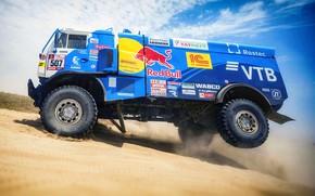 Picture Sand, Wheel, Sport, Truck, Race, Master, Russia, Kamaz, Rally, Dakar, KAMAZ-master, Dakar, Rally, KAMAZ, 507, …