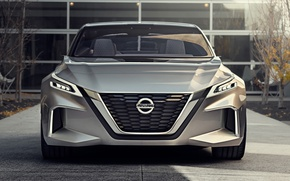 Picture Concept, Nissan, Vmotion, Intelligent Driving