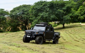 Picture made in Brazil, Agrale, military and civil vehicle, export type product, Agrale Marrua, gaucha factory