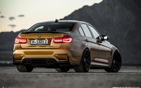 Picture BMW, BMW, sedan, Individual, M3, Sunburst Gold Metallic