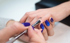 Picture woman, nails, manicure