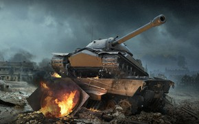 Wallpaper World of Tanks, IS-7, WoT, Is-7, World Of Tanks, Wargaming Net