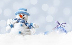 Wallpaper winter, decoration, Christmas, snowman, Christmas, Merry Christmas, winter, snow, snow, New Year, Xmas, snowman