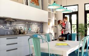 Picture family, kitchen, Perpetua Kitchen