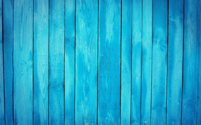 Picture wall, wood, blue, pattern