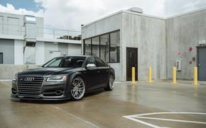Picture Audi, Gray, VAG, LED
