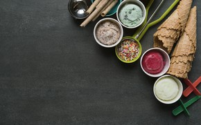 Picture spices, ingredients, condiments