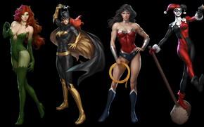 Wallpaper Gun, Heroes, Costume, Mask, Brunette, Hammer, Boots, Heroes, Cloak, Wonder Woman, Superheroes, Gun, Brunette, Red, ...
