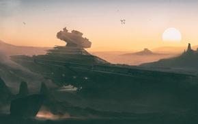 Picture Star Wars, Art, stardestroyer