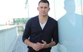 Picture face, male, jacket, Channing Tatum, Channing Tatum