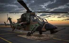Picture Tiger, helicopter, Eurocopter, attack helicopter, German Army, Eurocopter EC665 Tiger, Eurocopter EC665