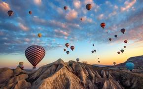 Wallpaper Nevsehir, Avanos, Dreams of Cappadocia, Turkey