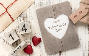 Picture gifts, heart, Valentine's Day, happy, hearts, love, gift, romantic, wood, love, heart