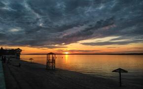 Picture Beach, Volga, Cheboksary