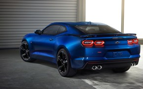 Picture Chevrolet, Camaro SS, rear view, 2019
