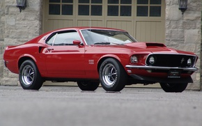 Picture Ford, mustang, Mustang, 1969, Ford, muscle car, boss 429