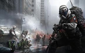 Picture city, sake, gun, pistol, soldier, weapon, man, rifle, tank, Tom Clancy's, pearls, uniform, seifuku, Tom …